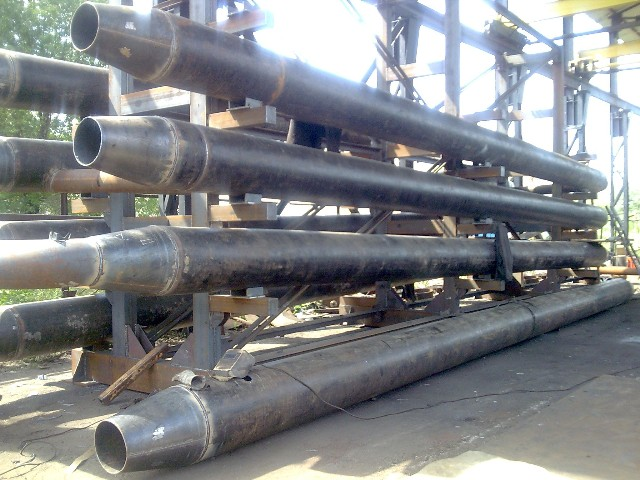 Heat transfer equipment such as tube in tube